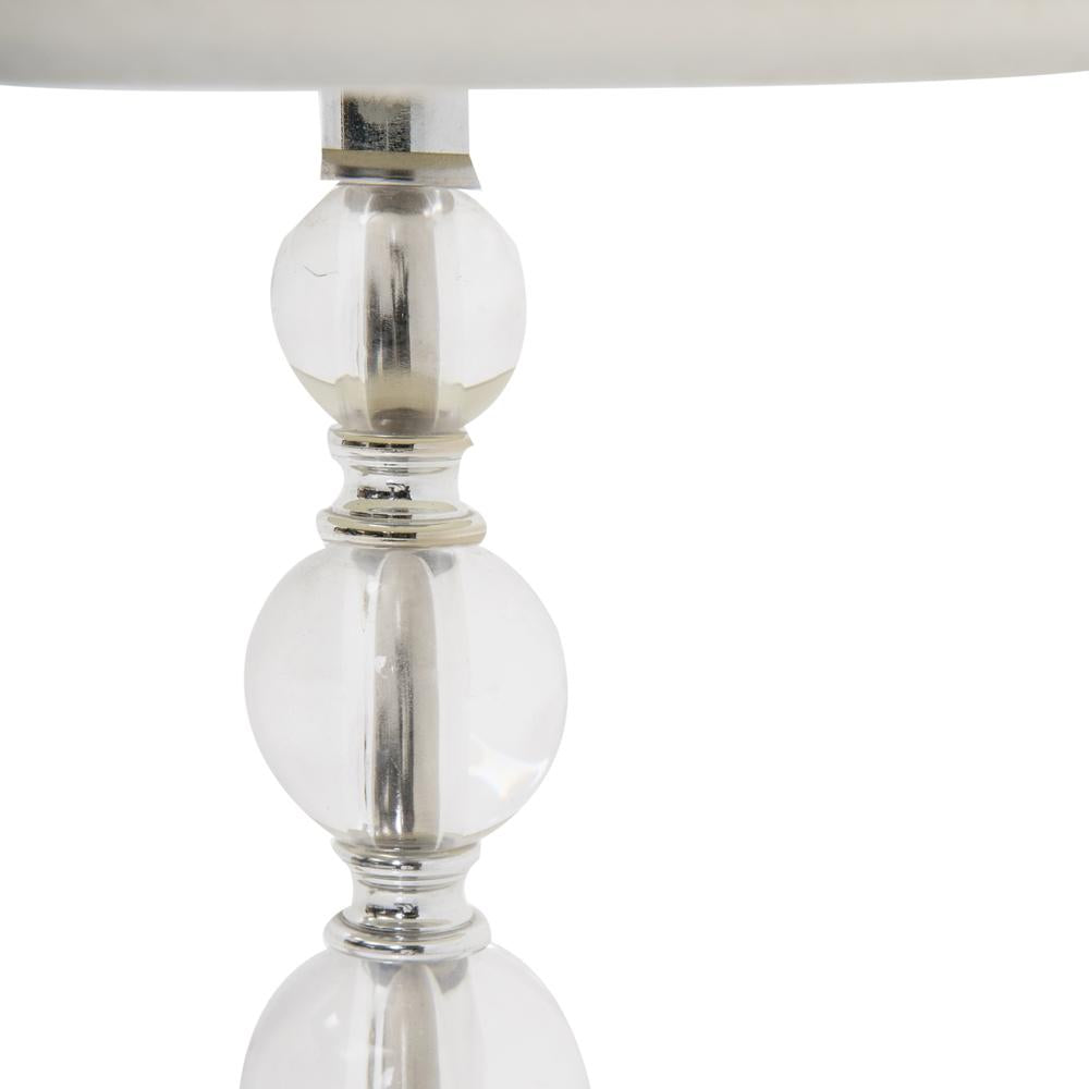 Clear Sphere Table Lamp