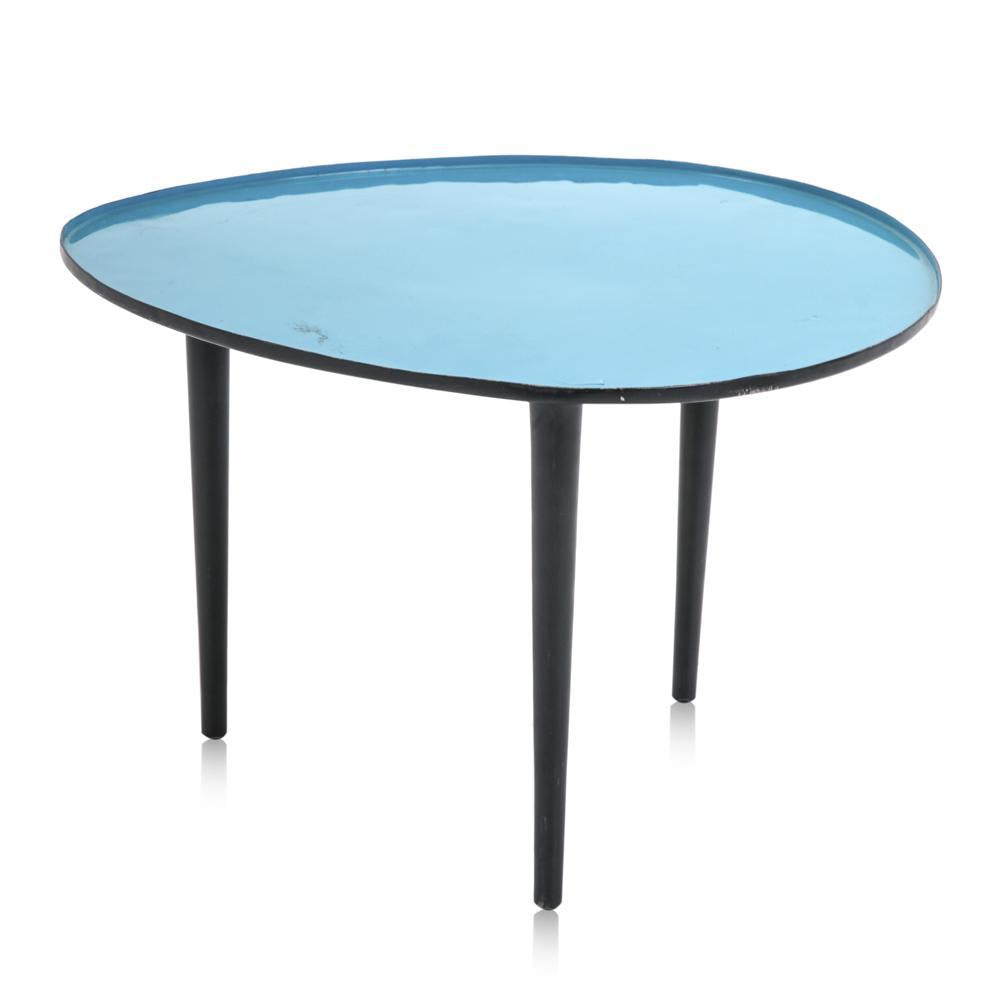 Aqua Tripod End Table
