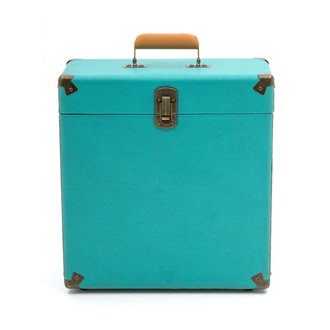 Aqua Colored LP Carrying Case