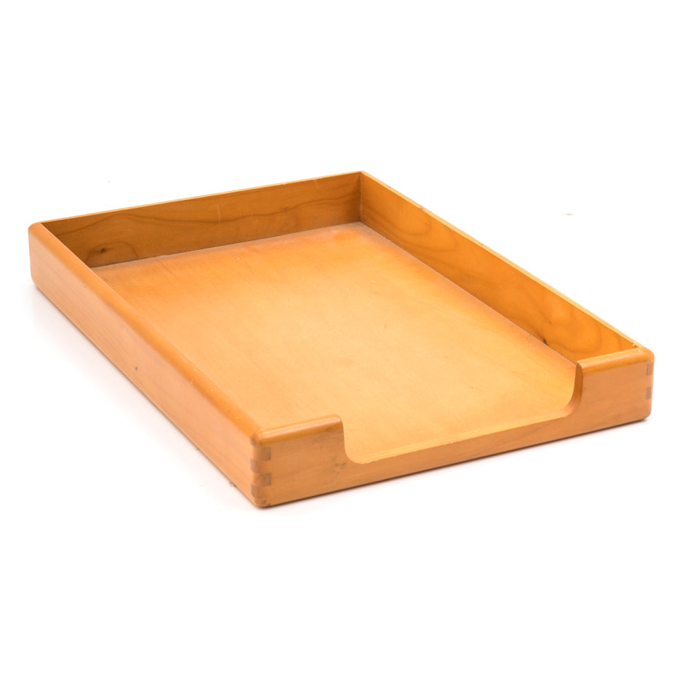 Wood Desk Tray