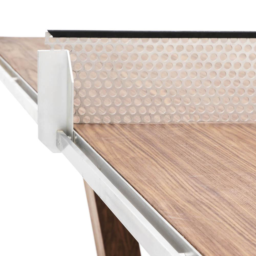 Contemporary Walnut Ping Pong Table