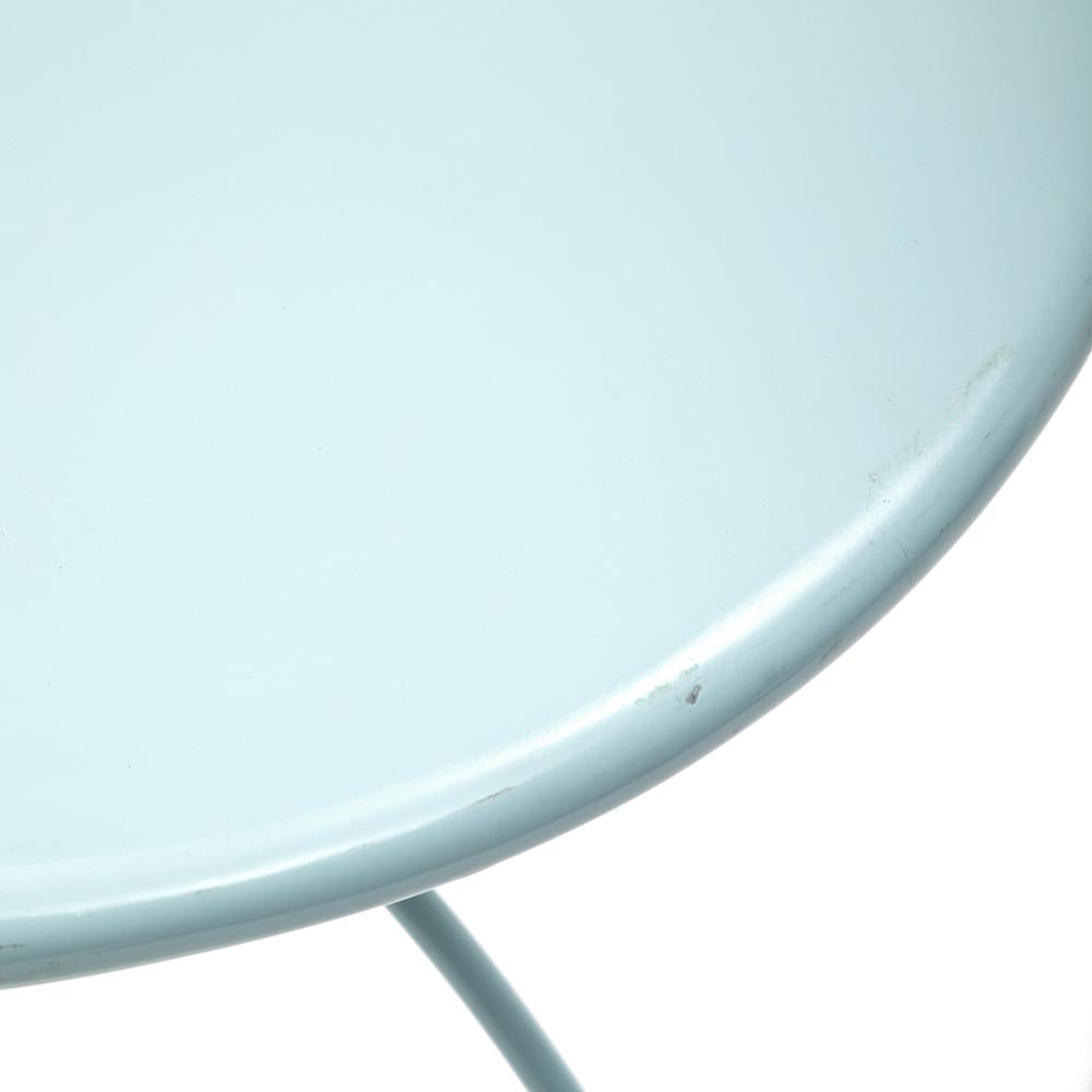 Aqua Metal Outdoor Table
