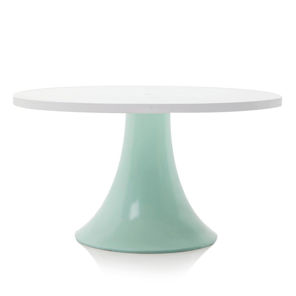 Aqua Fiberglass Outdoor Table