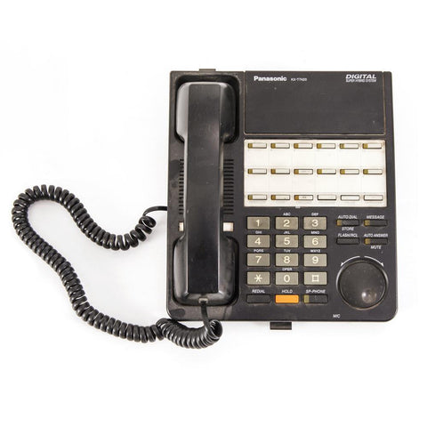 Black 90s Office Phone
