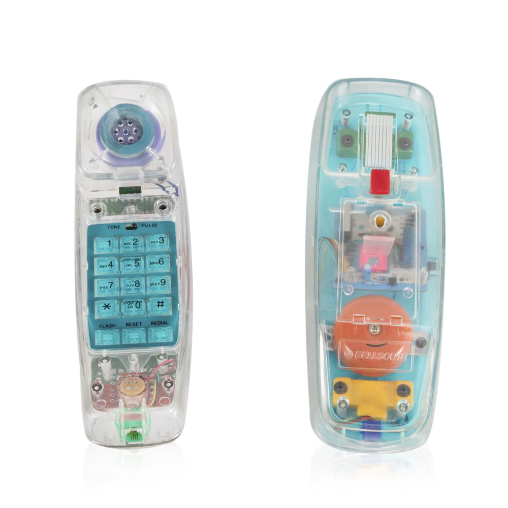 Clear Plastic Trimstyle Phone