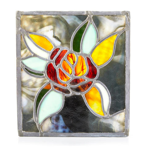BFA Stained Glass Rose Art