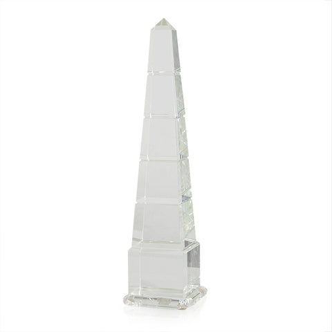 Glass Segmented Obelisk