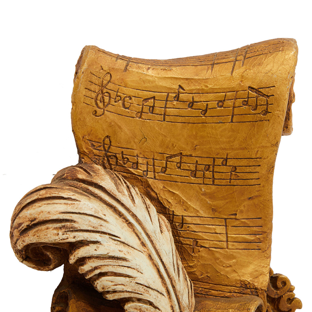Quill and Music Composition Wall Art