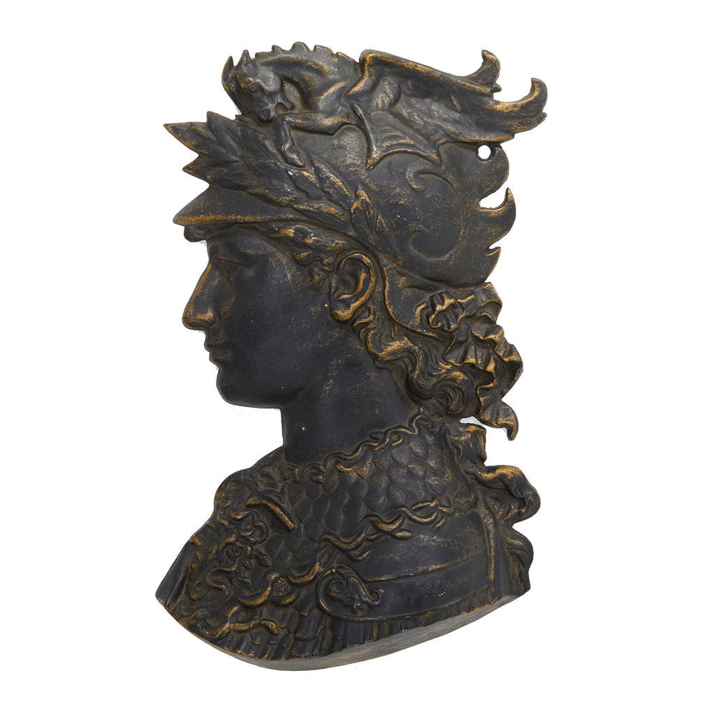 Greek God Head Wall Sculpture