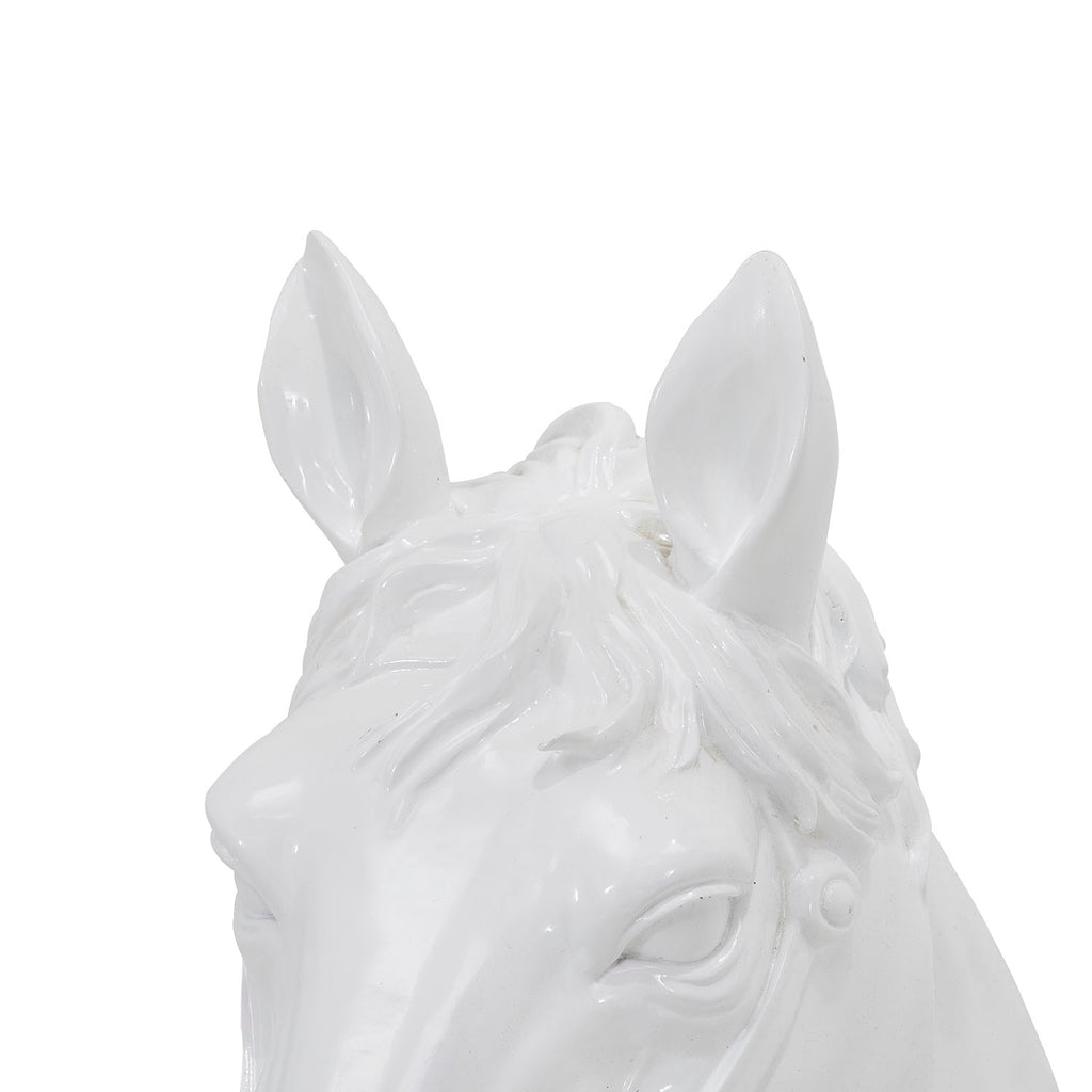 White Horse Head Wall Hanging