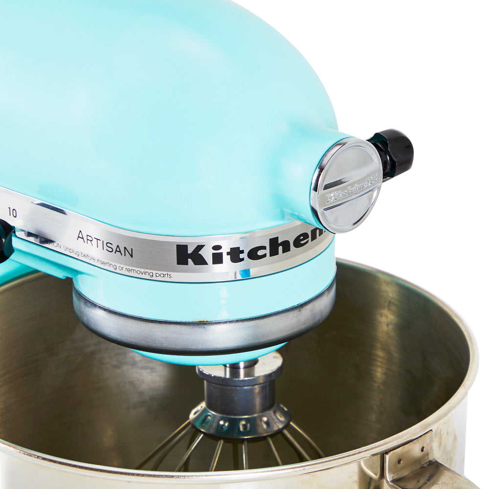 Light Blue Kitchen-Aid Mixer