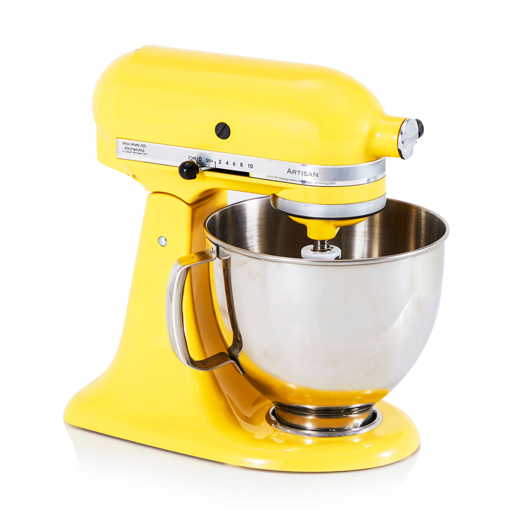 Modern Yellow Kitchen-Aid Mixer