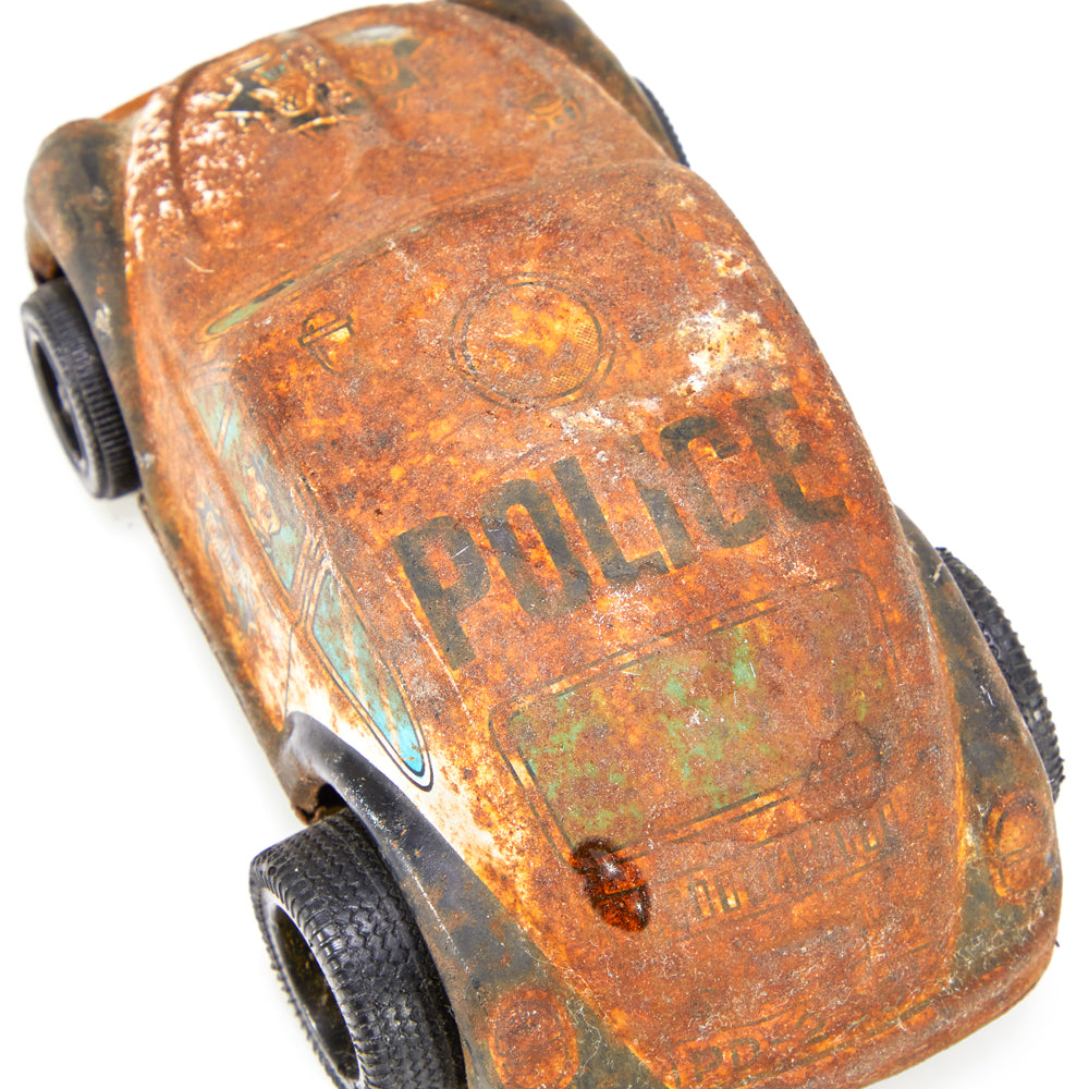 Brown BFA Rusted Police Car