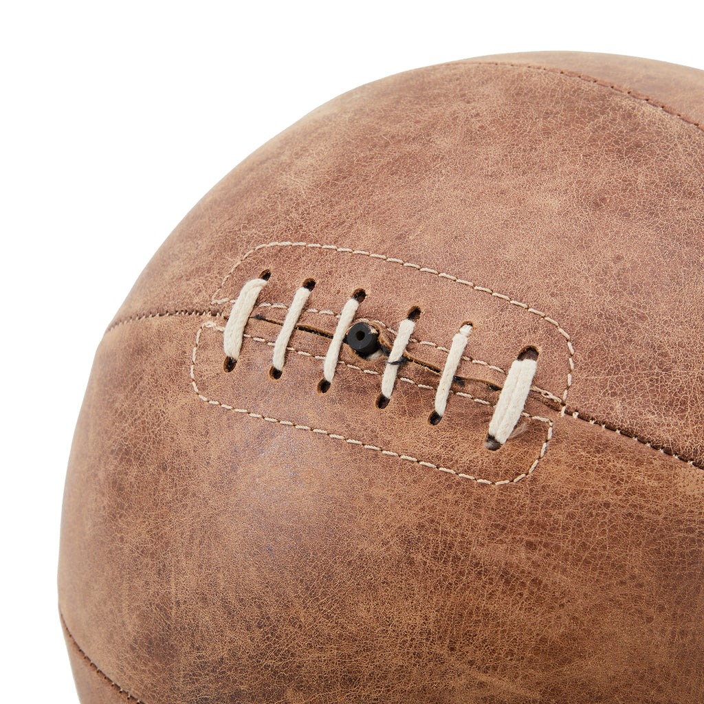 Brown BFA Vintage Leather Basketball