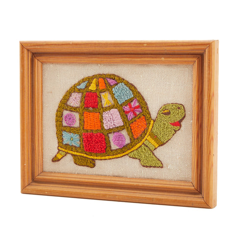 Multi-Color BFA Turtle Embroidery