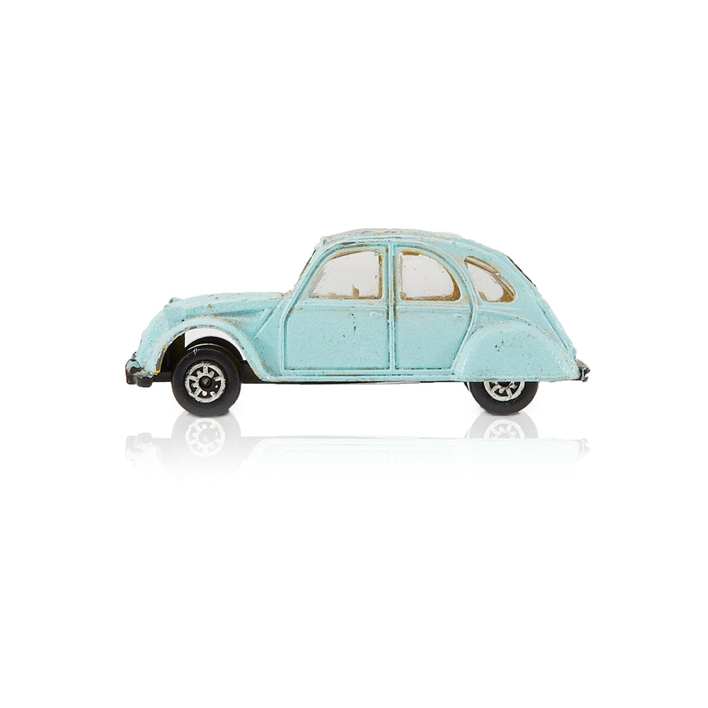 Blue BFA Miniature Toy Car