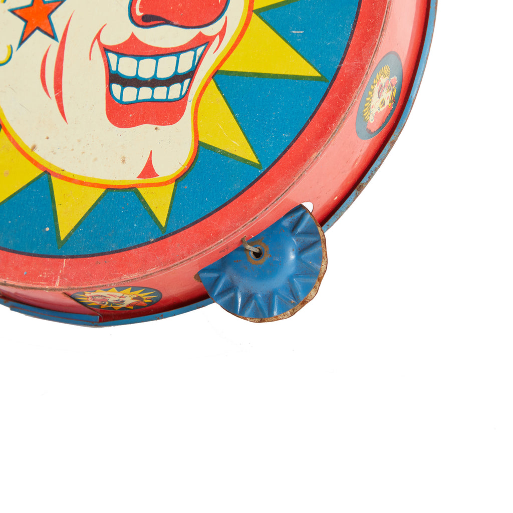 Multi-Color BFA Clown Tambourine