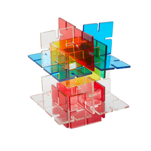 Multi-Color BFA Plastic Puzzle Toy