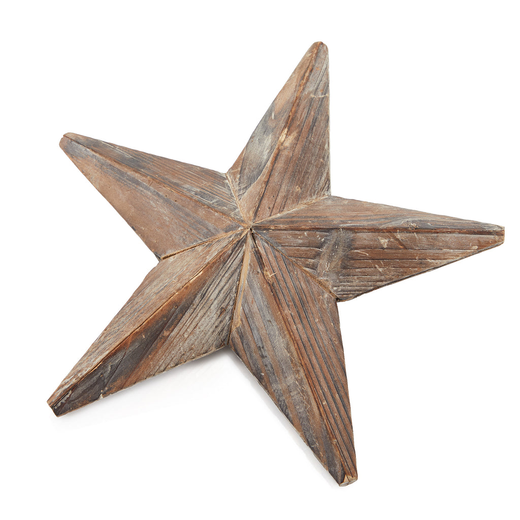 Brown BFA Wood Starfish