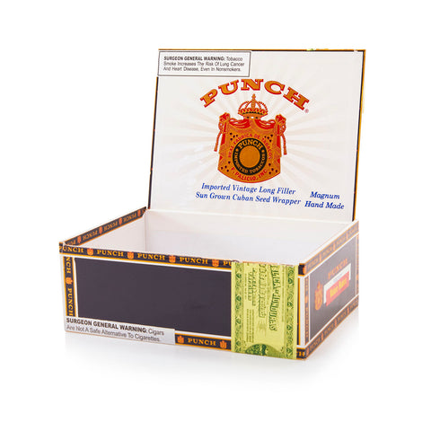 Black BFA 'Punch' Magnum Cigar Box
