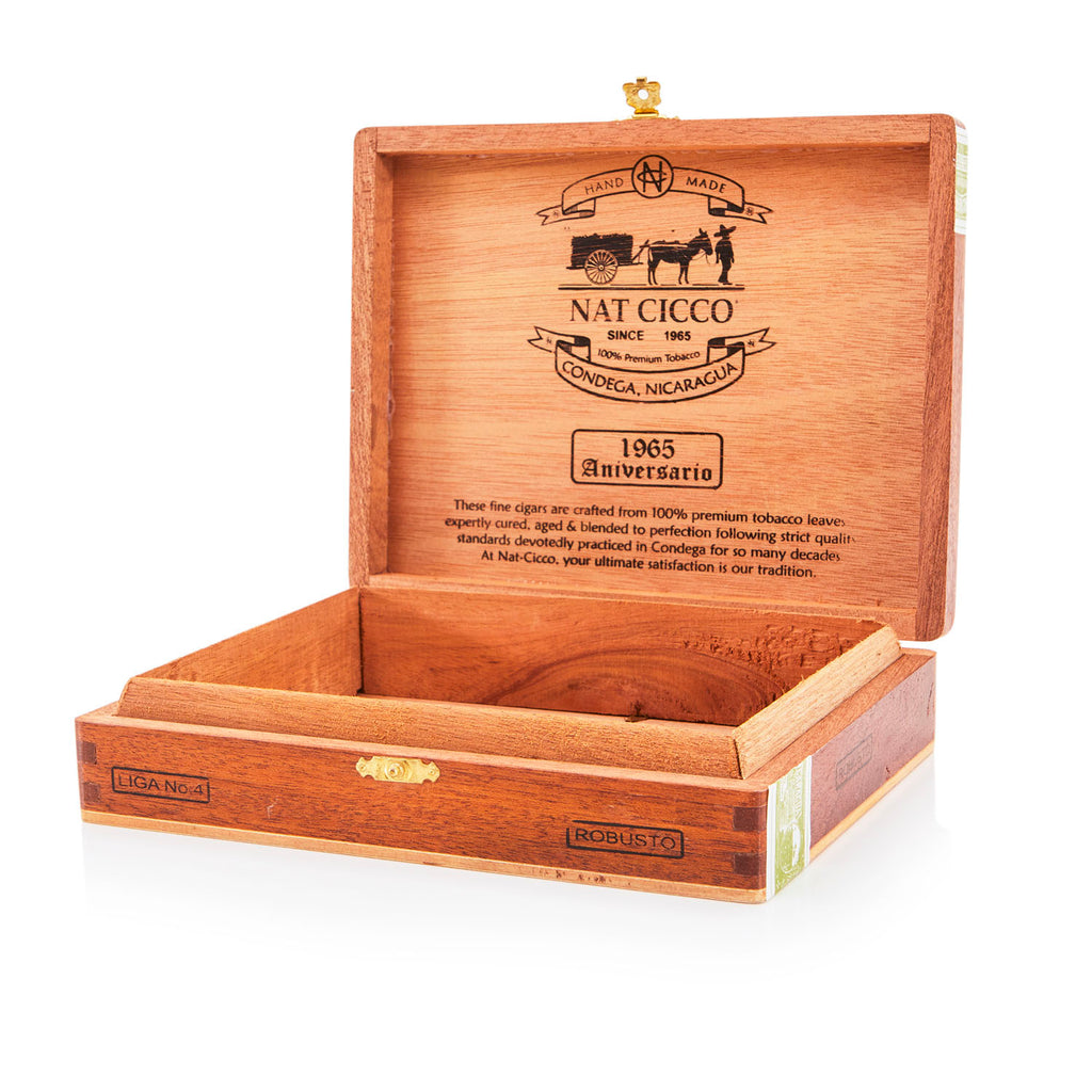 Wood BFA 'Nat Cicco' Cigar Box