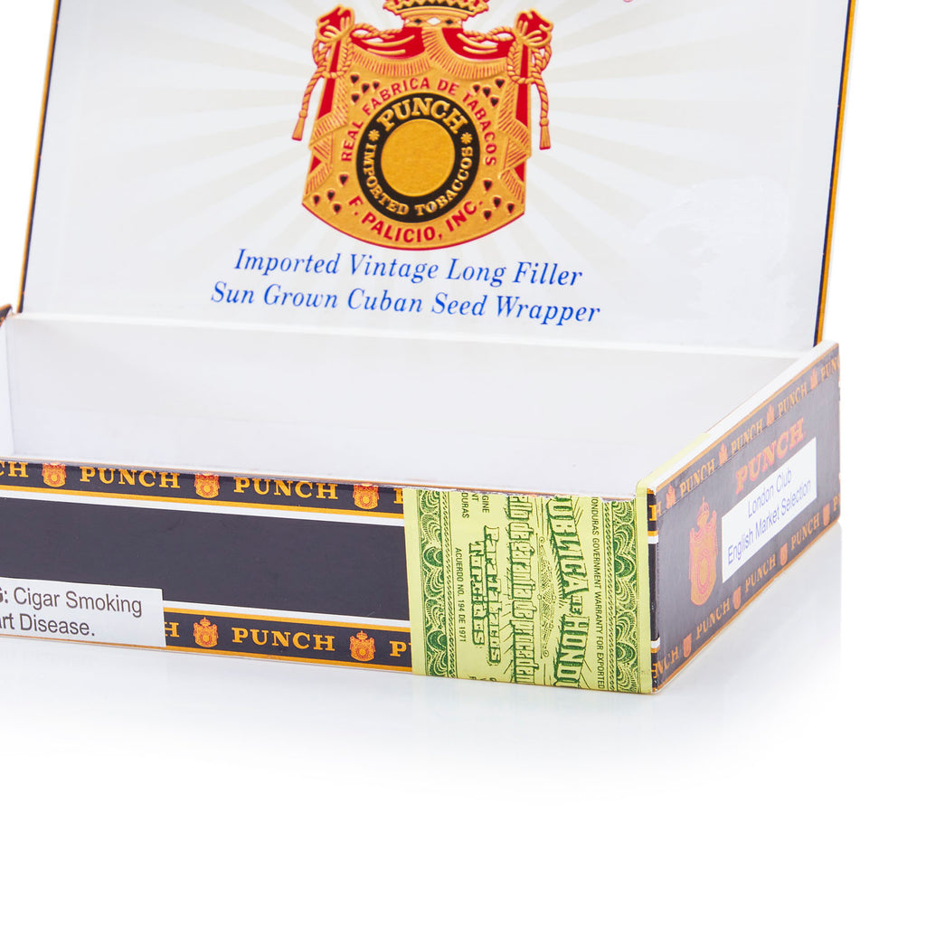 Black BFA 'Punch' Cigar Box