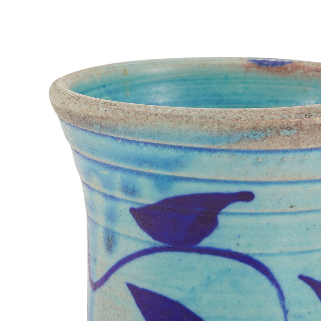 Brown & Blue BFA Ceramic Jar