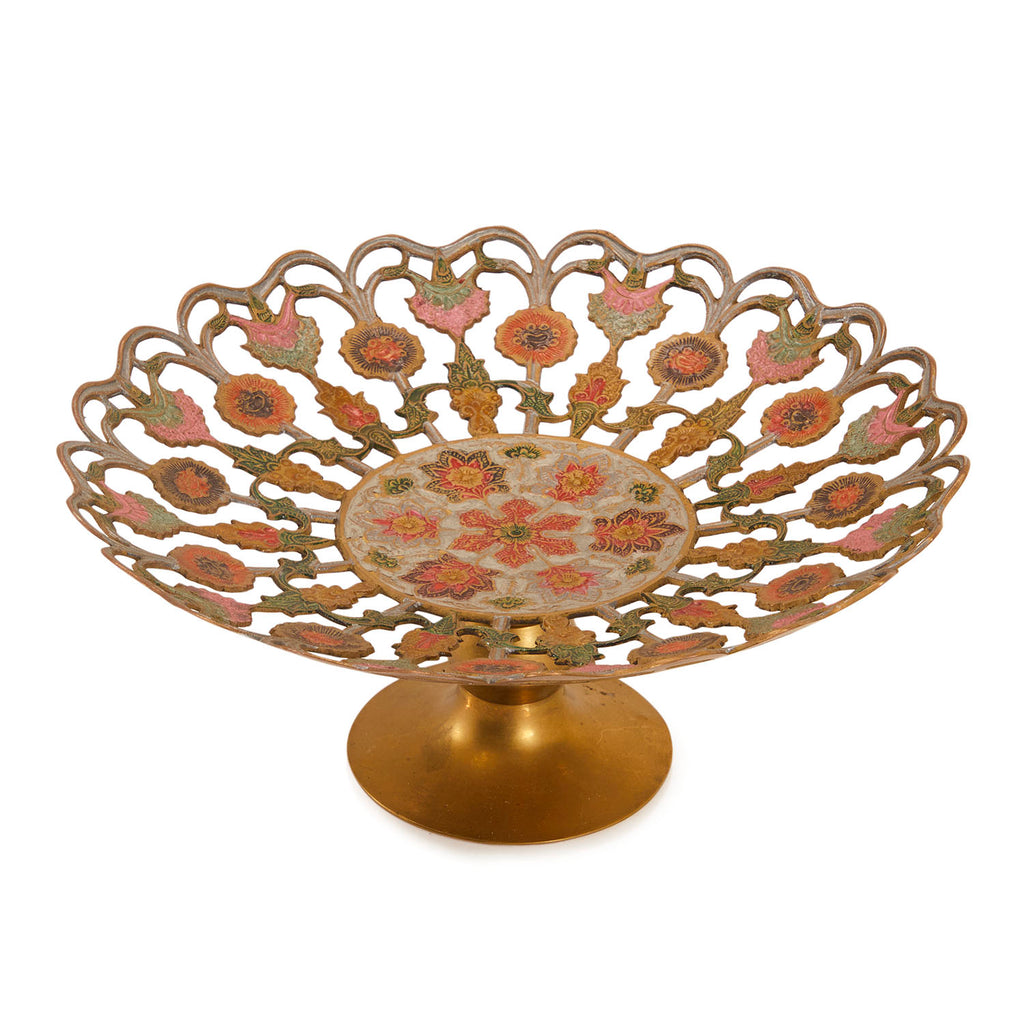 Bronze BFA Decorative Serving Dish
