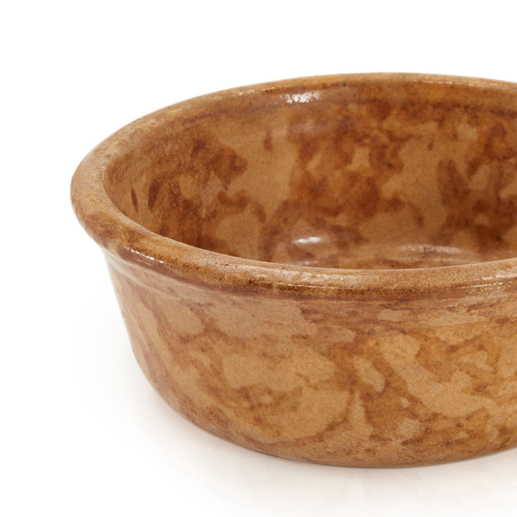 Brown BFA Ceramic Bowl