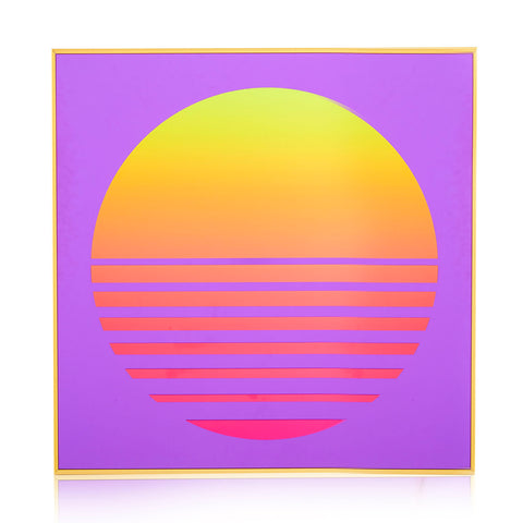 110-1139 Yellow Sun Purple Mirror