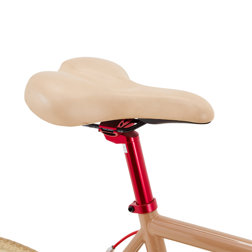 Red and Tan Martone Bicycle