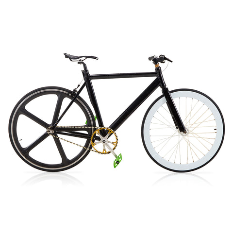 "Black ""Fixie"" Bike"
