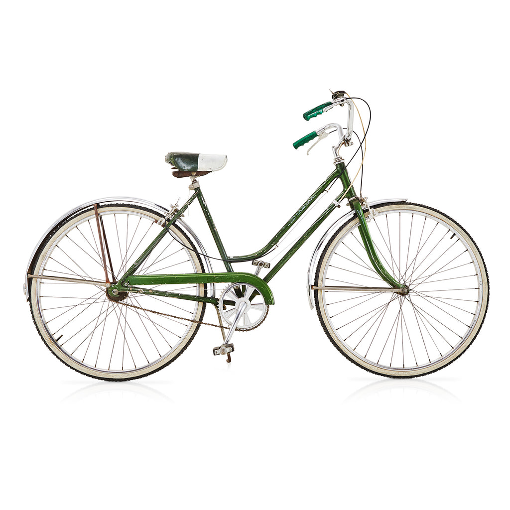 Green Schwinn Cruiser Bike