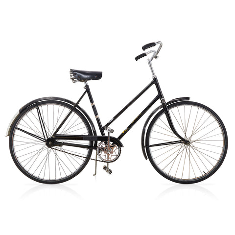Black Sports Cruiser Bike