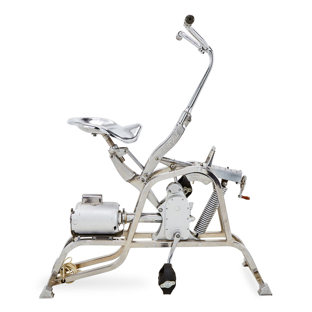 Vintage Chrome Exercise Bike