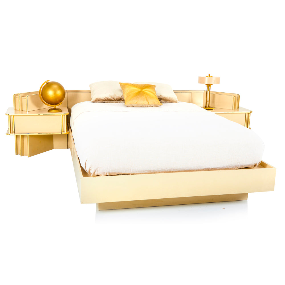Gold Regency Bed Frame