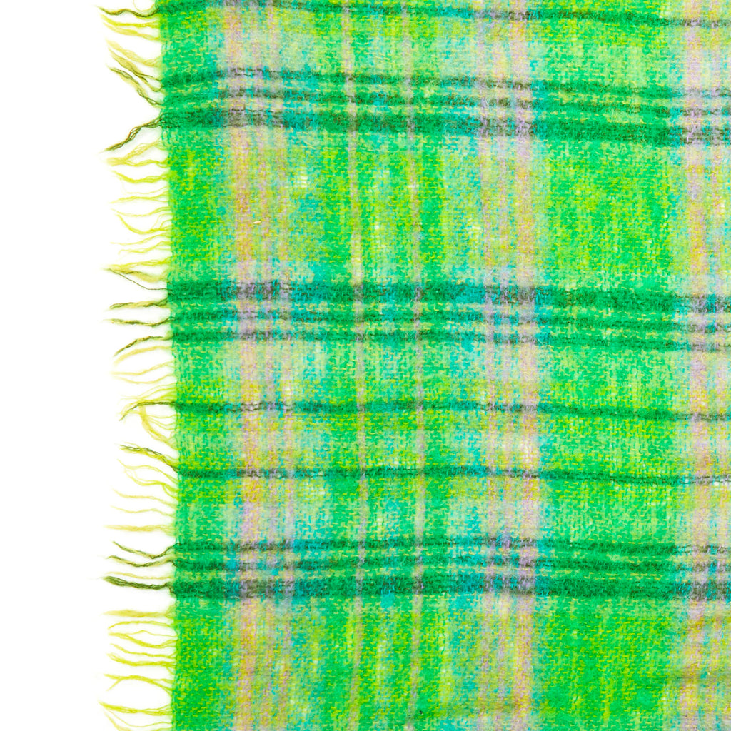 Green Plaid Blanket
