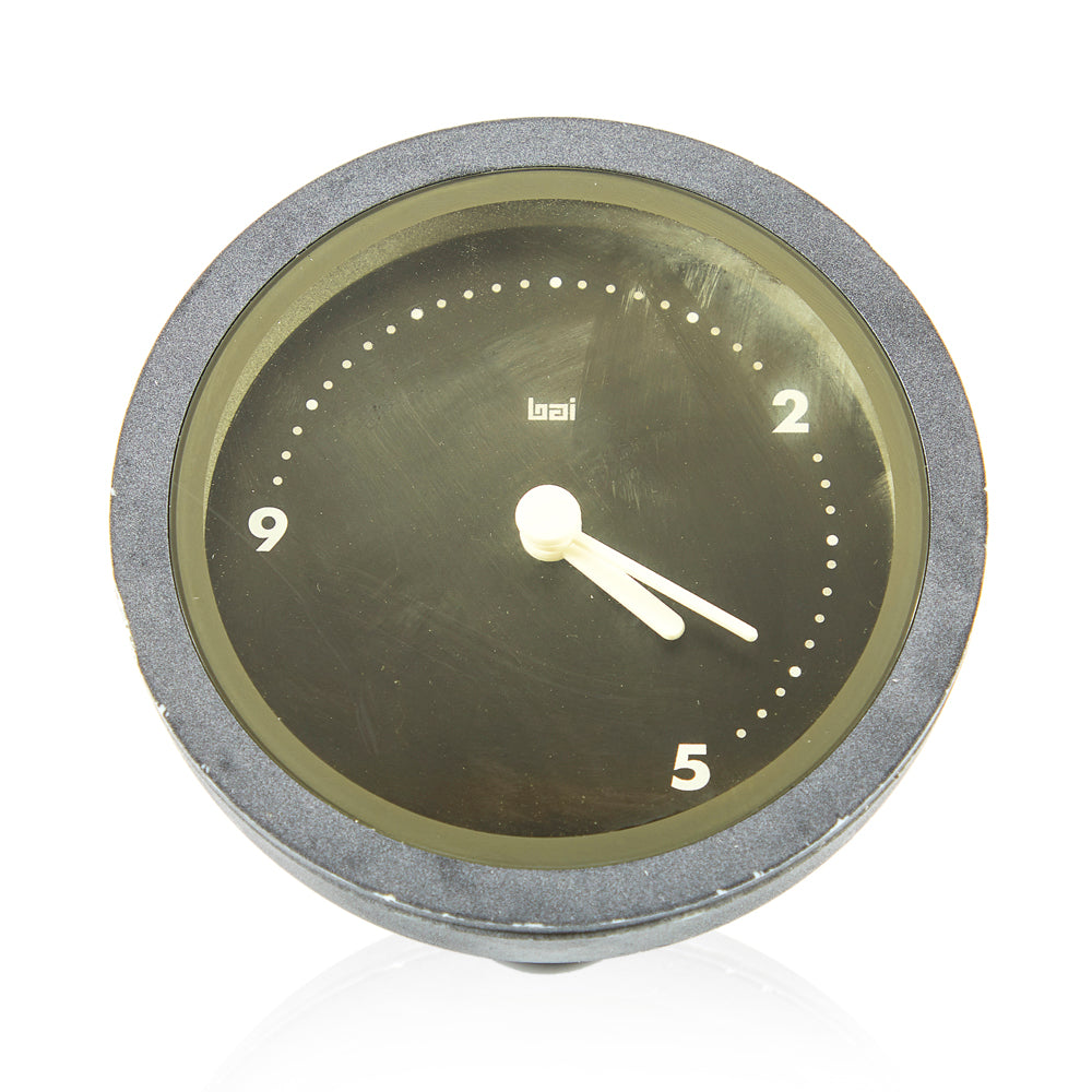 Grey Dome Work Clock
