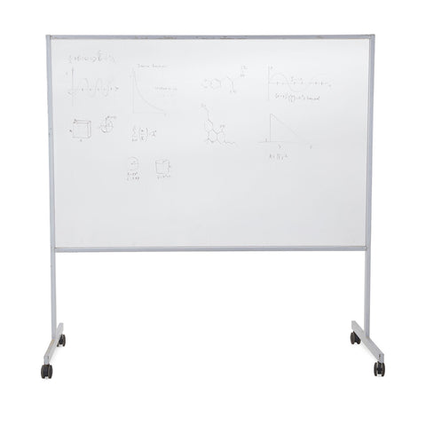 Rolling Dry-Erase White Board