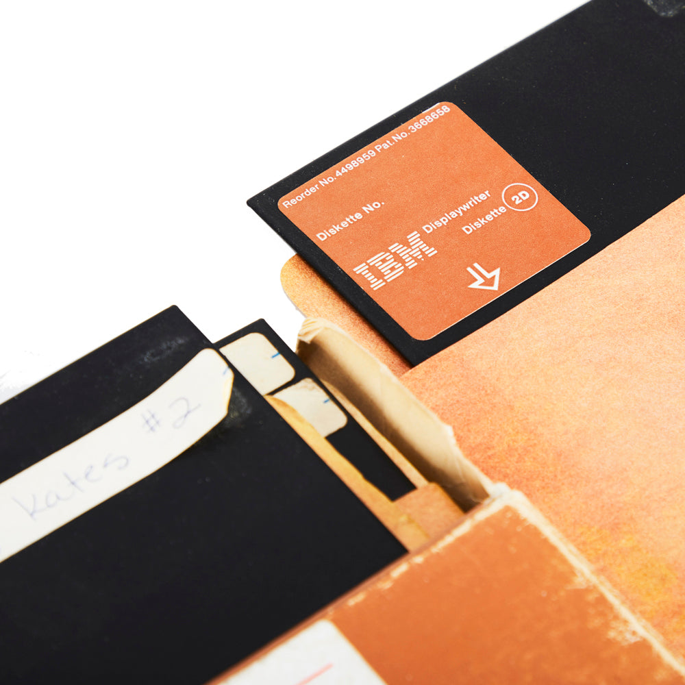 IBM Floppy Disks in Brown Paper Sleeve