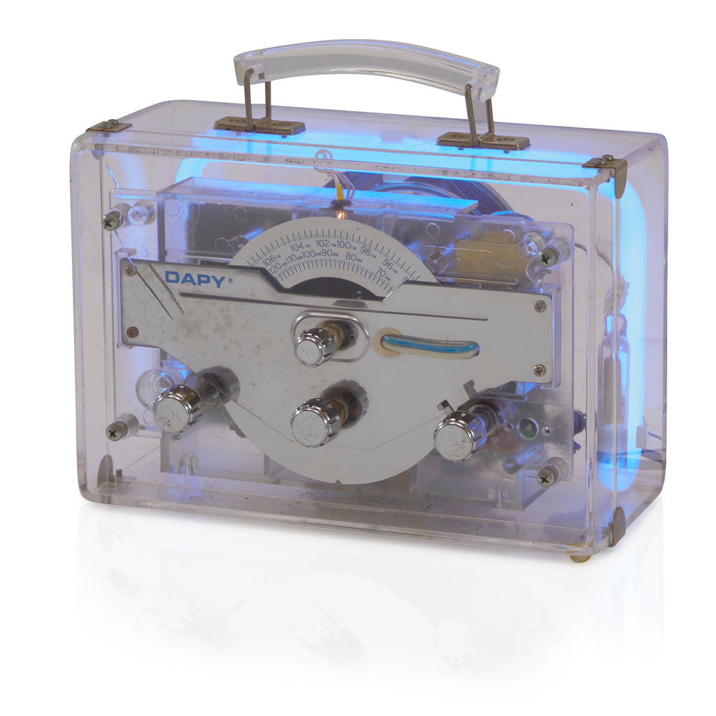 Dapy Portable Light Up Radio
