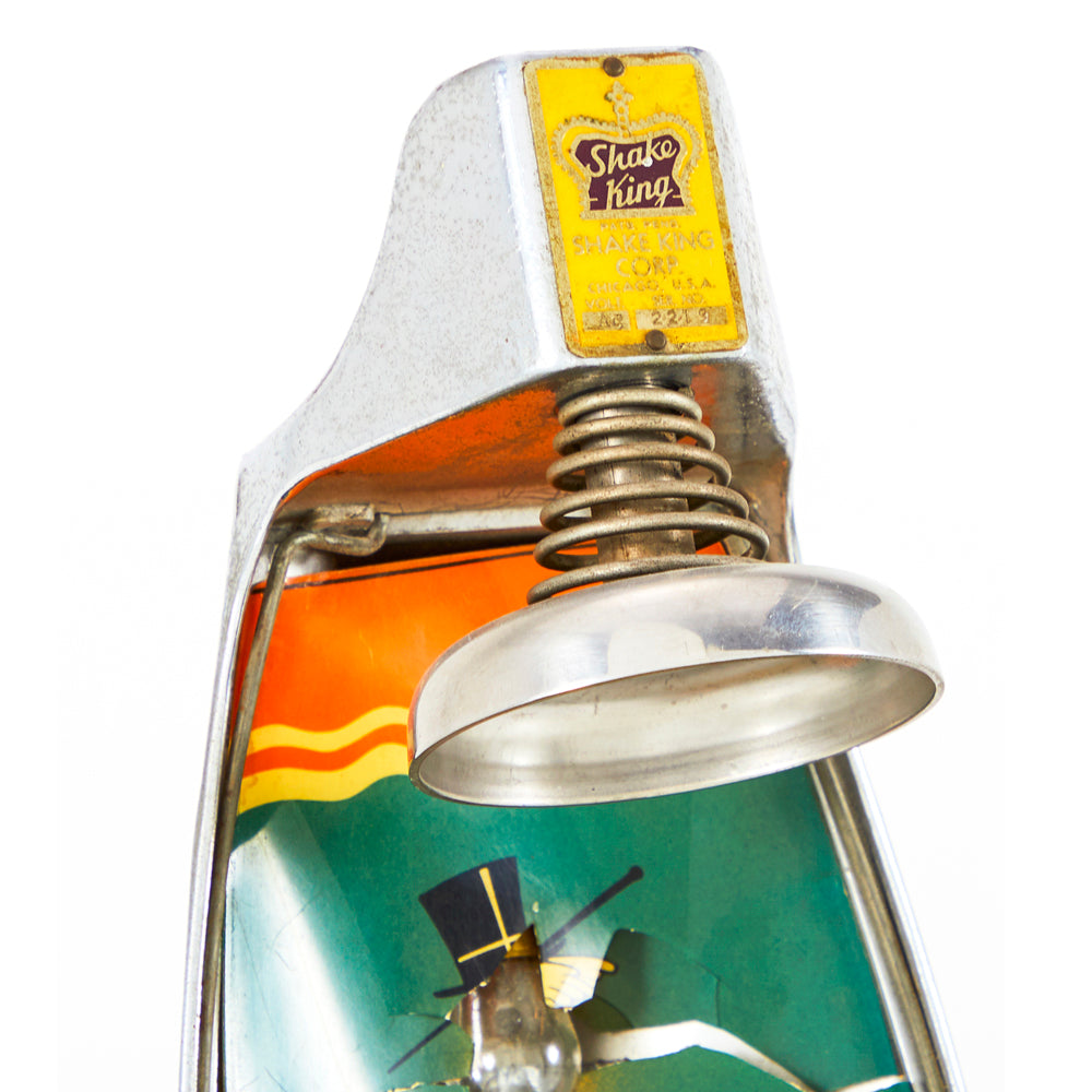 Vintage Shake King Drink Mixer