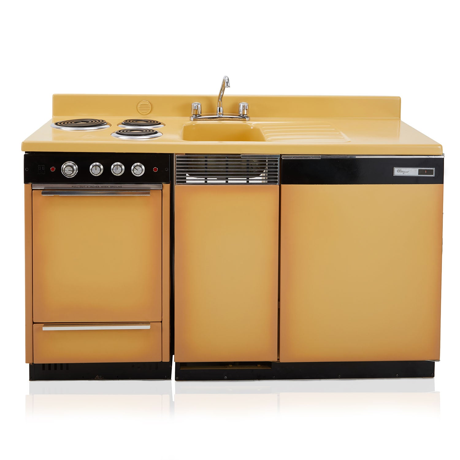 Tan Vintage Kitchen Unit Modernica Props
