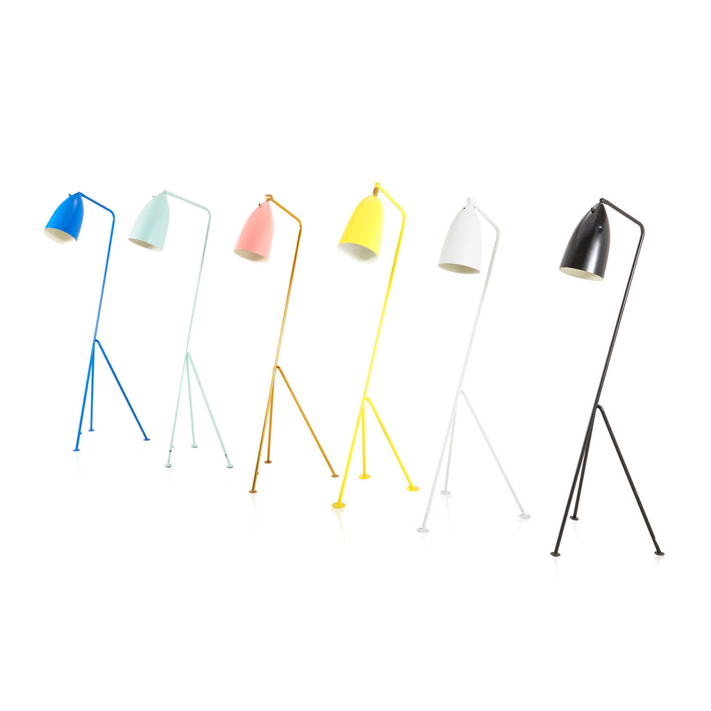 Grasshopper Floor Lamp - White
