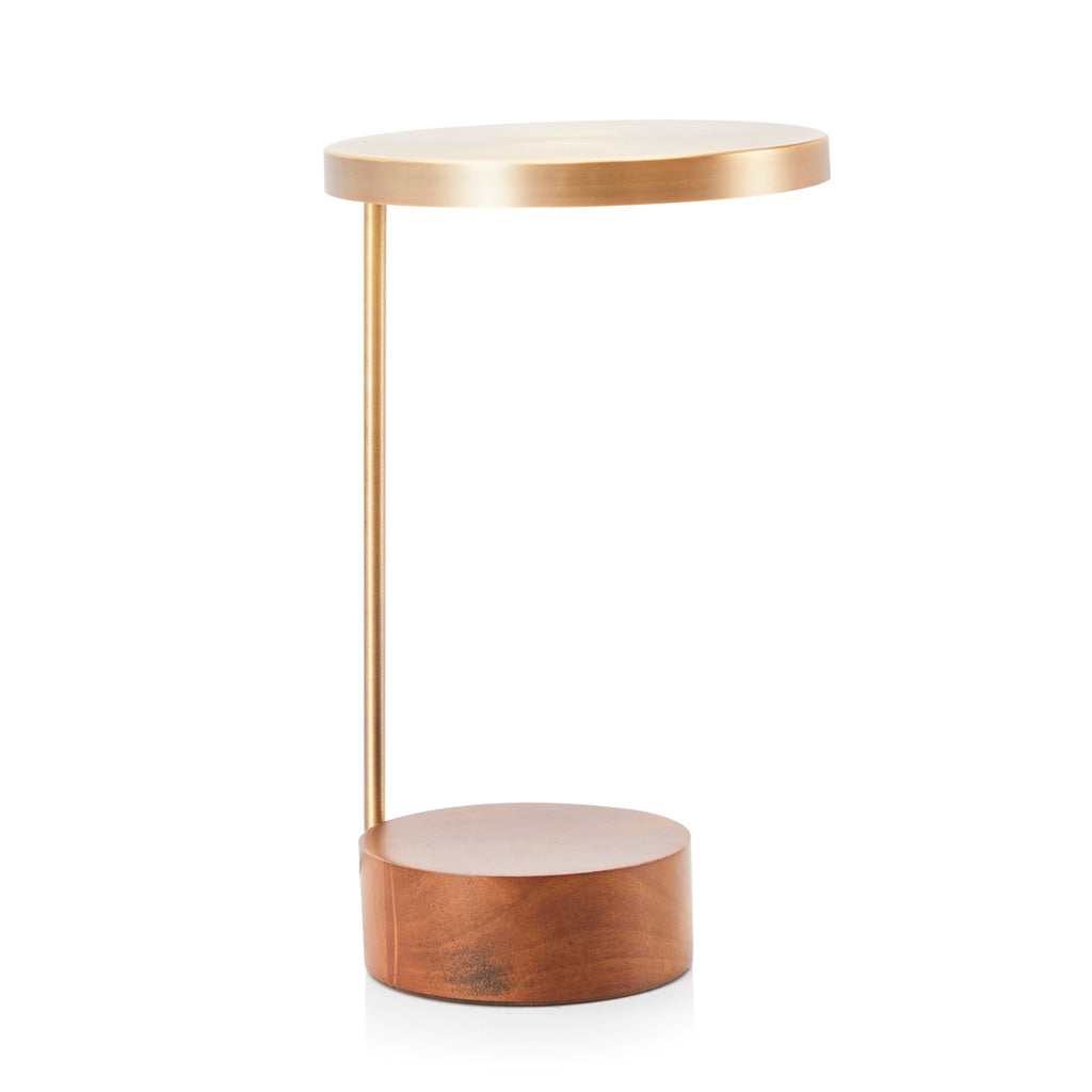 Minimalist Bronze Desk Lamp