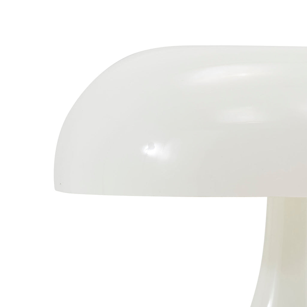 White Mushroom Table Lamp