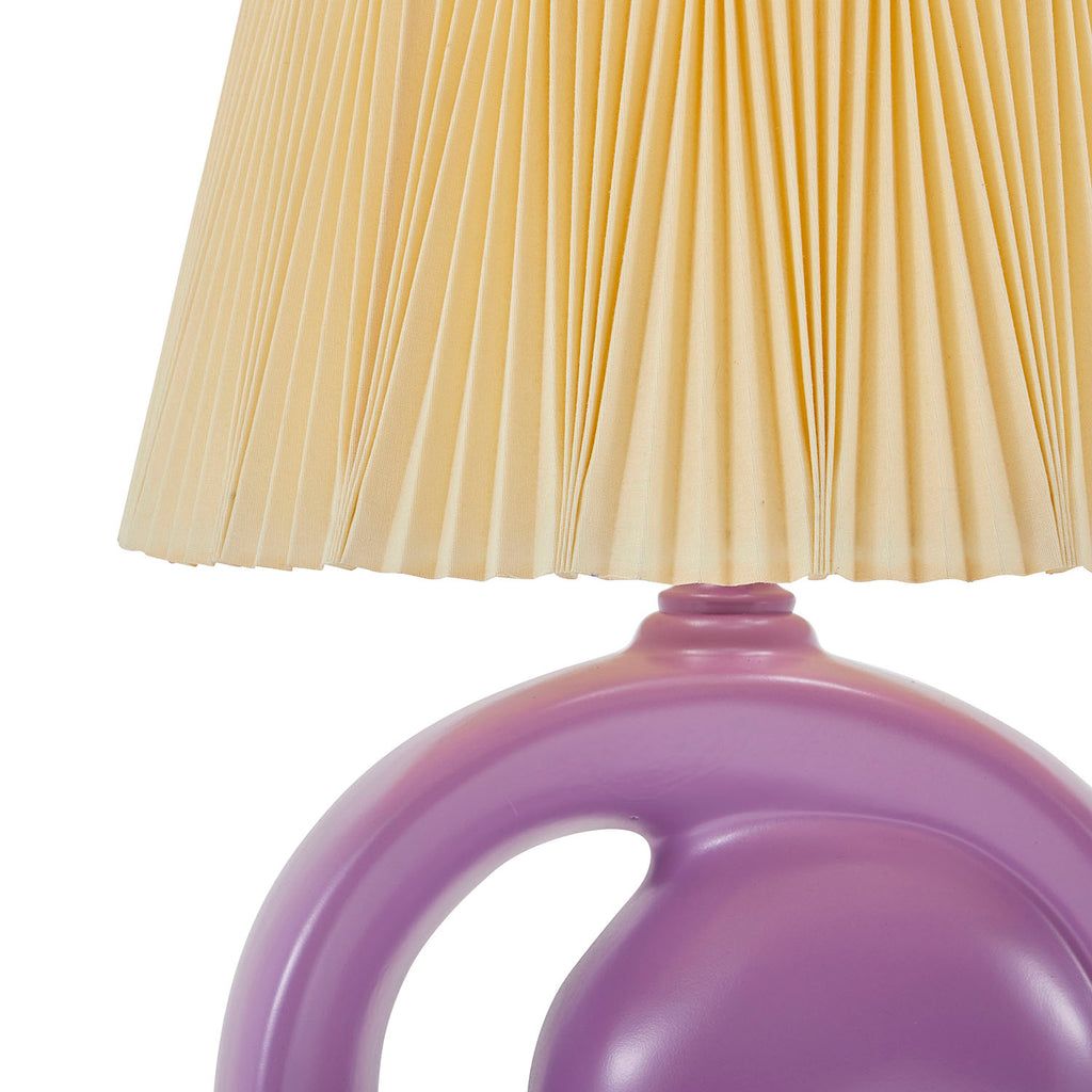 Negative Space Lamp Purple
