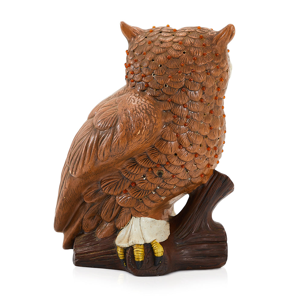 Owl Sculpture Table Lamp