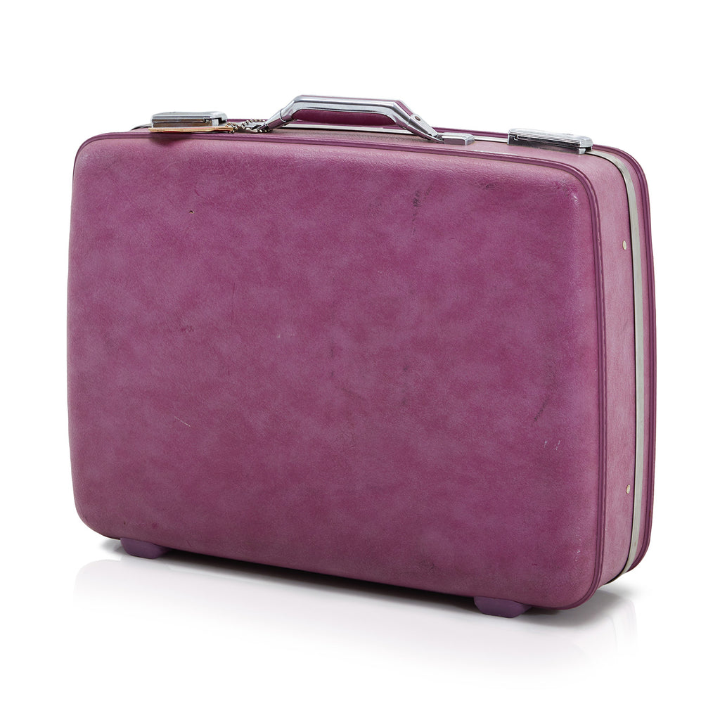 Vintage Purple Suitcase Small