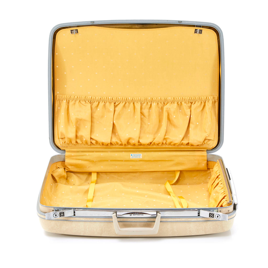 Samsonite Cream Suitcase